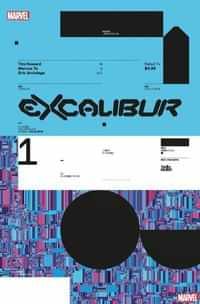 Excalibur #1 Variant 10 Copy Muller Design