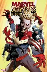 Marvel Zombies Resurrection #1 Variant 50 Copy Land