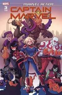 Marvel Action Captain Marvel #3