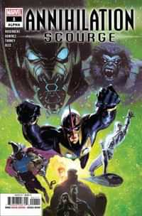 Annihilation Scourge One-Shot Alpha