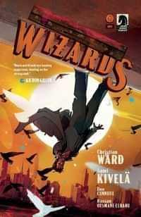 Machine Gun Wizards #4 CVR A Ward
