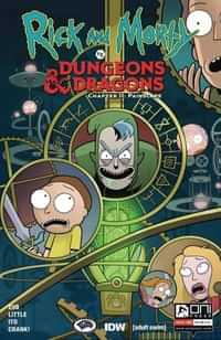 Rick and Morty Vs Dungeons and Dragons II #3 CVR A Ito