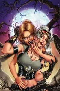 Van Helsing Vs Draculas Daughter #4 CVR B Riveiro