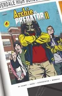Archie Vs Predator 2 #4 CVR B Smith