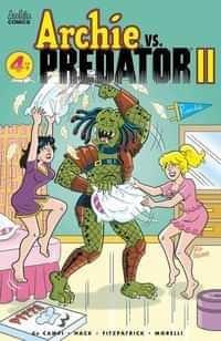 Archie Vs Predator 2 #4 CVR C Golliher