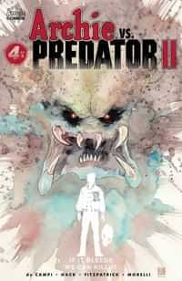 Archie Vs Predator 2 #4 CVR D Mack