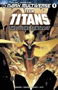 Tales From The Dark Multiverse One-Shot the Judas Contract