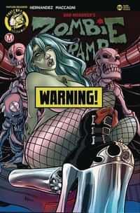 Zombie Tramp #66 CVR F Boo Rudetoons Risque