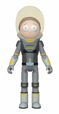 Rick and Morty AF Space Suit Morty