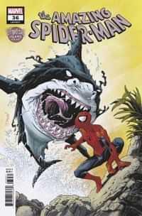 Amazing Spider-Man #36 Variant Shalvey Venom Island