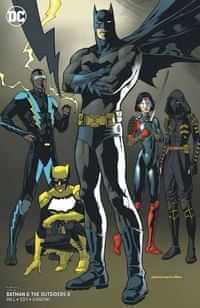 Batman and the Outsiders #8 CVR B