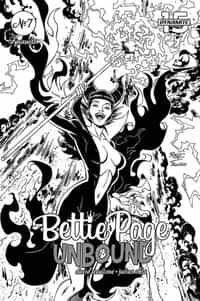 Bettie Page Unbound #7 Variant 15 Copy Royle BW