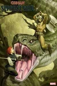 Conan Serpent War #2 Variant 50 Copy Yoon