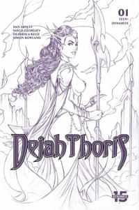 Dejah Thoris #1 Variant 15 Copy Tucci Lines Tint Foc