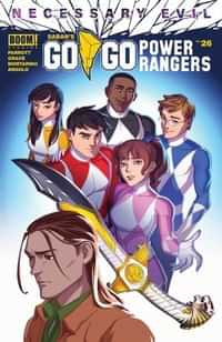 Go Go Power Rangers #26 CVR A Jlou