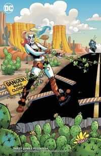 Harley Quinn and Poison Ivy #4 CVR B Card Stock Harley