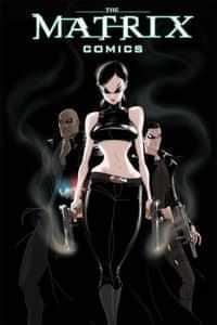 Matrix Comics HC 20th Anniversary Edition Trinity CVR