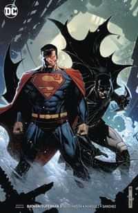 Batman Superman #5 CVR B Card Stock