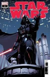 Star Wars #1 Variant 50 Copy Asrar Vader