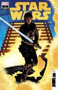 Star Wars #1 Variant 50 Copy Hughes Luke