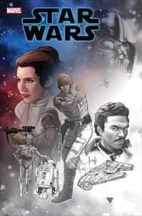 Star Wars #1 Variant Silva Premiere