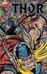 Thor #1 Variant Mr Garcin Collage