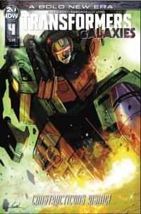 Transformers Galaxies #4 CVR A Ramondelli