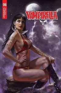 Vampirella #6 Variant 25 Copy Parrillo Sneak Peek