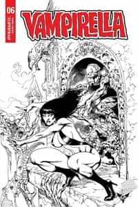 Vampirella #6 Variant 7 Copy Castro BW Foc