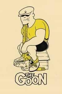 Goon #7 CVR B Jones Cardstock