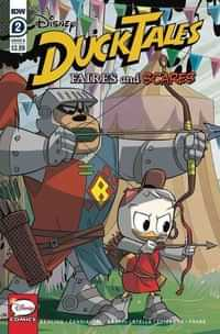 Ducktales Faires and Scares #2 CVR B
