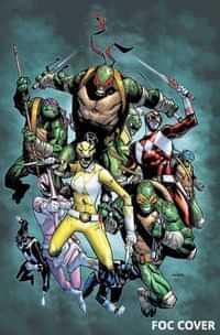 Power Rangers Teenage Mutant Ninja Turtles #2 CVR H Ramos