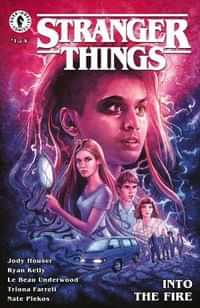 Stranger Things Into The Fire #1 CVR B Lambert