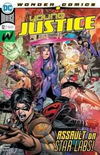 Young Justice #12 CVR A