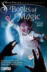 Books of Magic TP Second Quarto