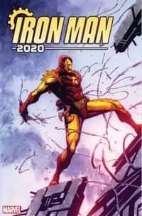 Iron Man 2020 #1 Variant 25 Copy Pham
