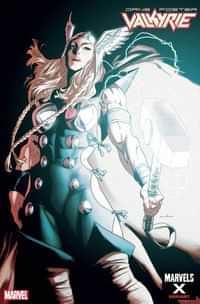 Valkyrie Jane Foster #7 Variant Anka Marvels X