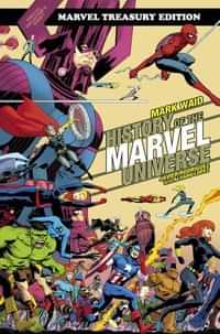 History Of Marvel Universe TP Treasury Edition DM CVR