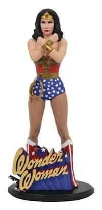 DC Gallery PVC Figure Wonder Woman Lynda Carter