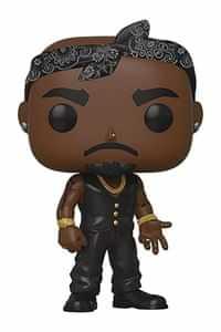 Funko Pop Rocks Tupac Vest with Bandana
