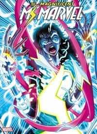 Magnificent Ms Marvel #8 Second Printing Vecchio Var