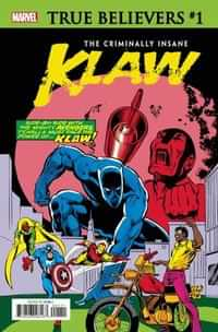 True Believers One-Shot Criminally Insane Klaw