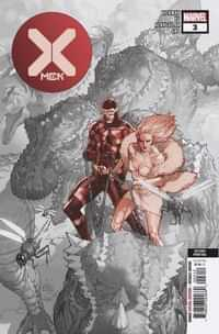 X-Men #3 Second Printing Yu