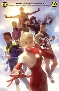 Legion Of Super Heroes #4 CVR B Card Stock Garner