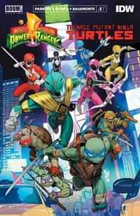 Power Rangers Teenage Mutant Ninja Turtles #1 Second Printing CVR A