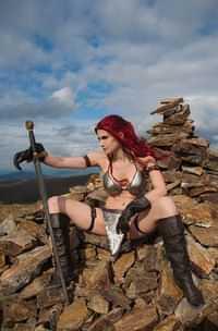 Red Sonja #13 Variant 15 Copy Cosplay Virgin Foc Incv