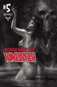 Vengeance of Vampirella #5 Variant 11 Copy Parrillo BW