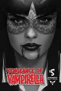 Vengeance of Vampirella #5 Variant 30 Copy Oliver BW