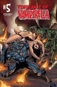 Vengeance of Vampirella #5 Variant Castro Color Foc Bonus