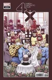 X-men Fantastic Four #1 Variant 100 Copy Hidden Gem
